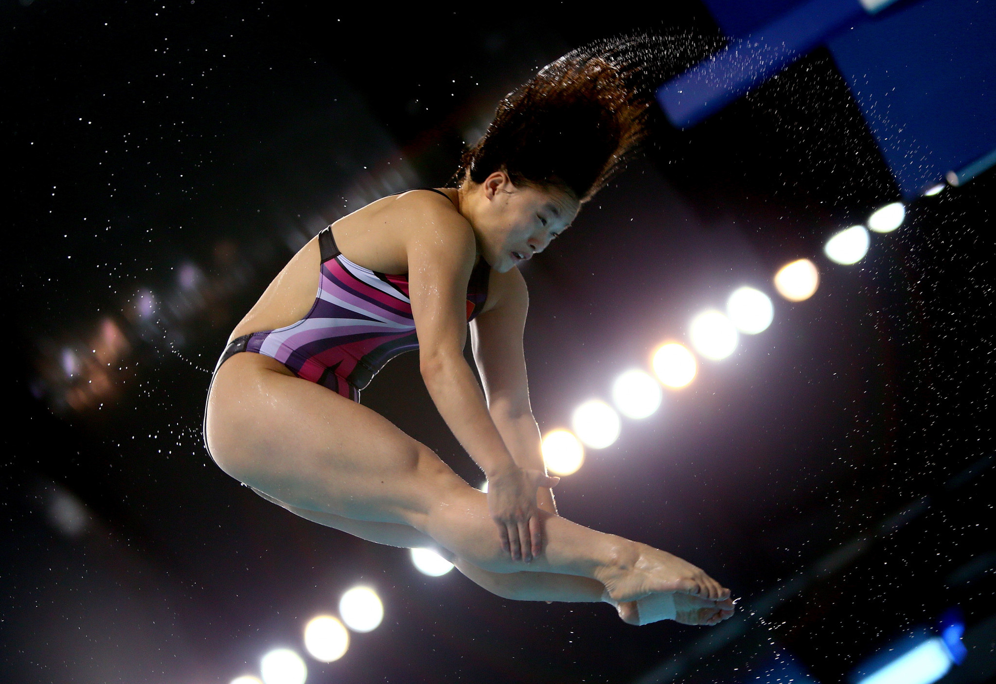 Ying Wei won the women's 3m springboard competition at the FIS Diving Grand Prix in Rostock ©Getty Images