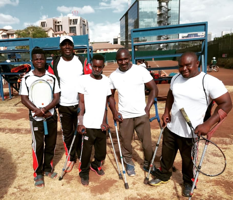 The men's team will play South Africa for a spot in May's finals ©Tennis Kenya/Facebook