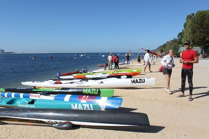 Elio Kayaks already has a significant presence in world canoeing ©Elio Kayaks