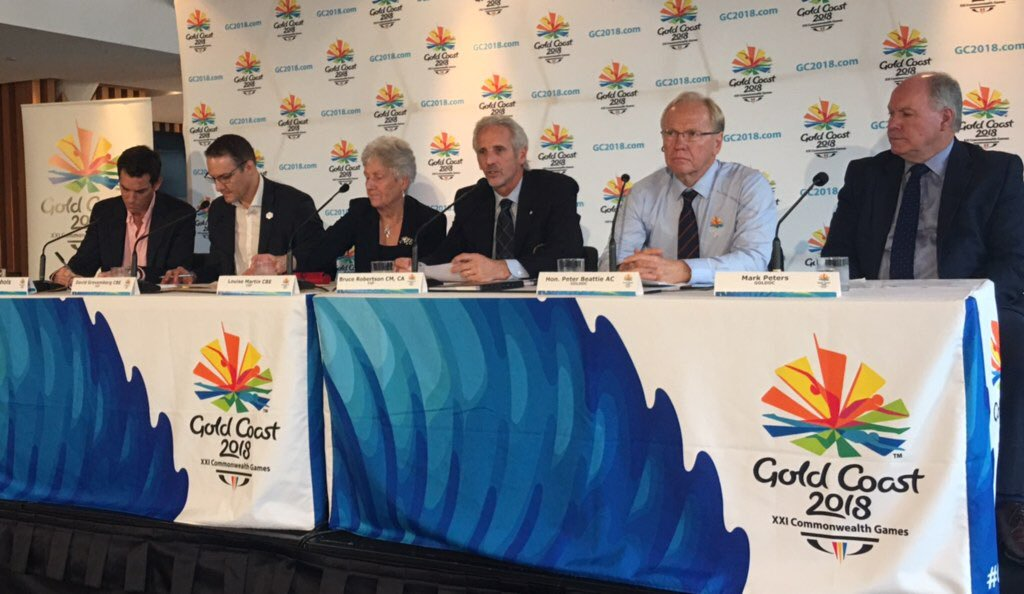 Bruce Robertson chaired the Gold Coast 2018 Coordination Commission ©Twitter