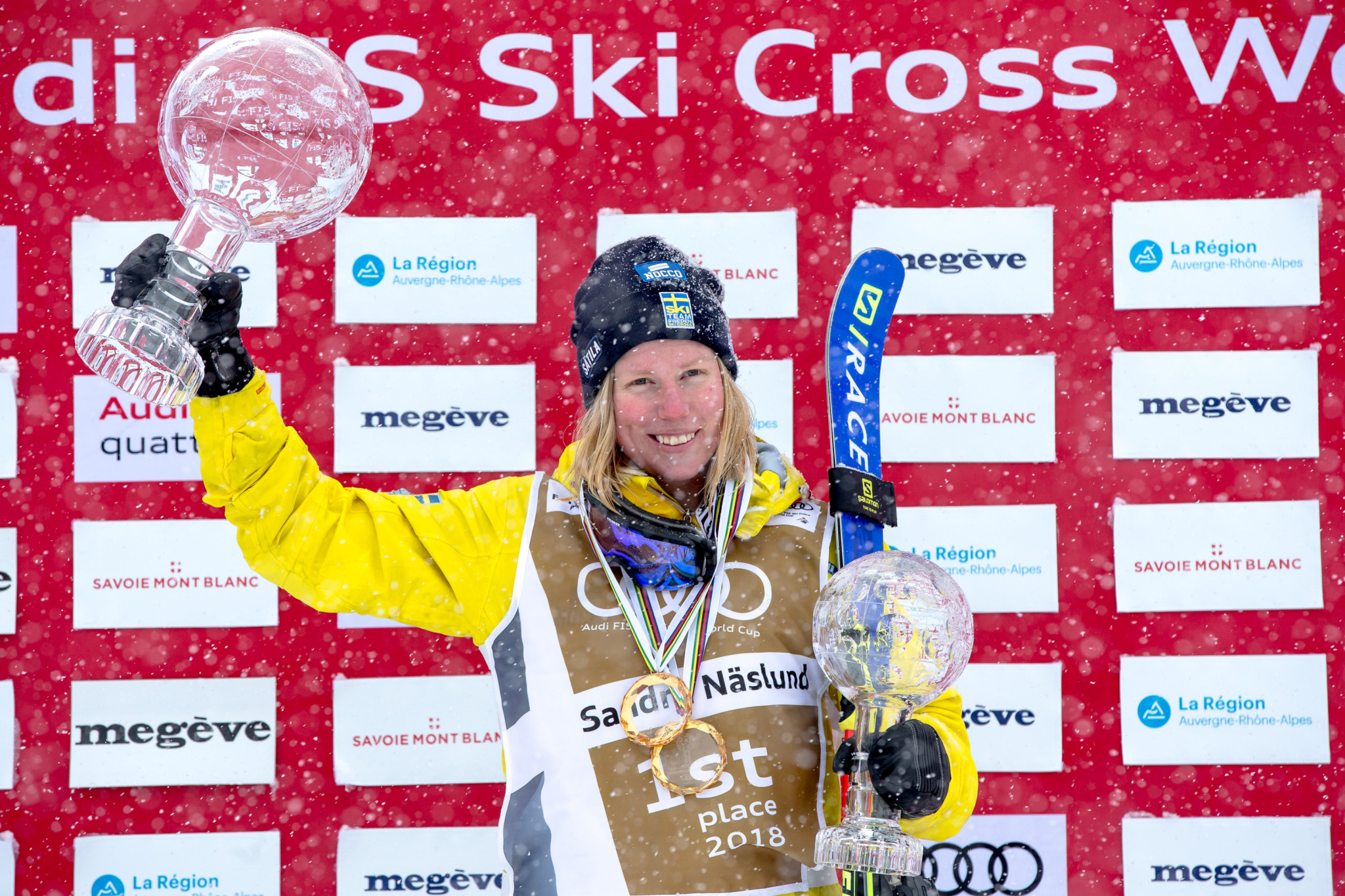 Two from two for Naeslund at Feldberg Ski Cross World Cup