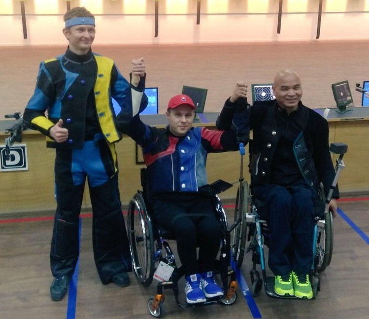 Second gold medal for Malenovský at Al Ain Shooting Para Sport World Cup
