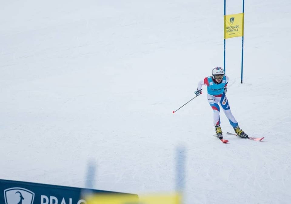 Switzerland's Amelie Wenger-Reymond was the season's overall winner at the FIS Telemark World Cup Final in Krvavec ©Facebook