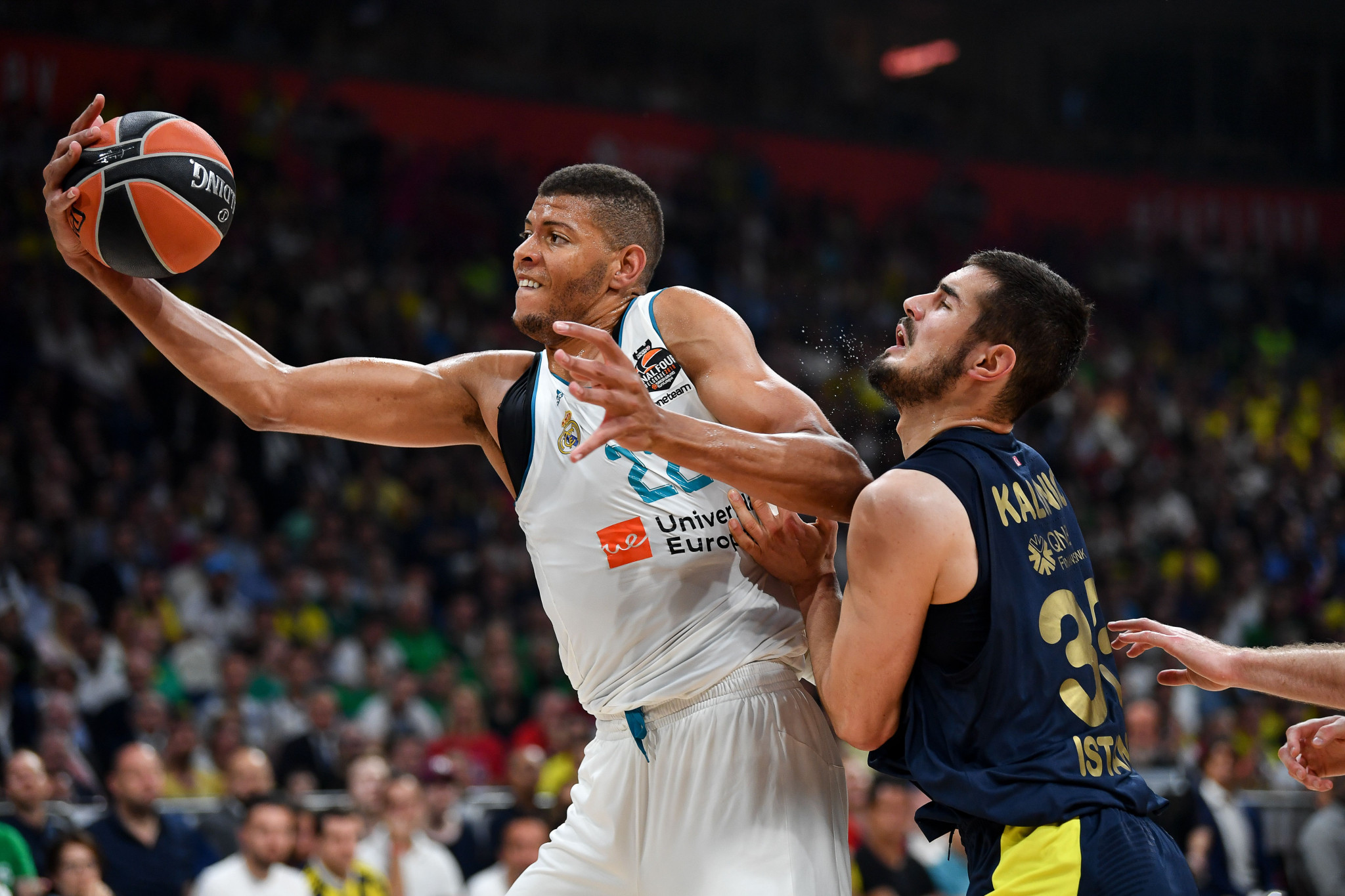 EuroLeague have been locked in a dispute with FIBA over the release of players for qualifiers ©Getty Images