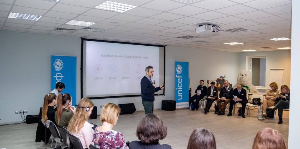UNICEF hold seminar for Minsk 2019 volunteers