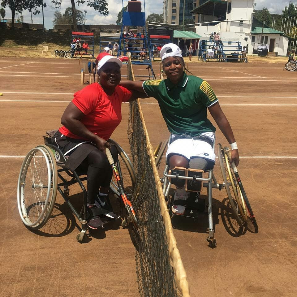 South Africa's women beat Kenya for the loss of just one game ©Tennis Kenya/Facebook