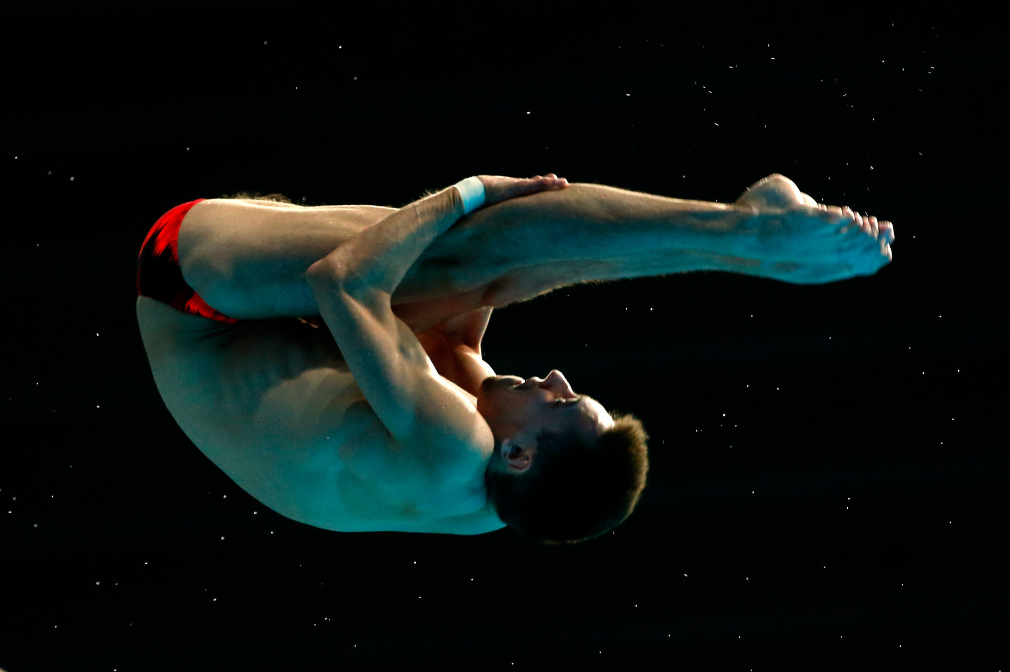 Victor Minibaev won the men's 10m platform at the FINA Diving Grand Prix in Rostock ©Getty Images