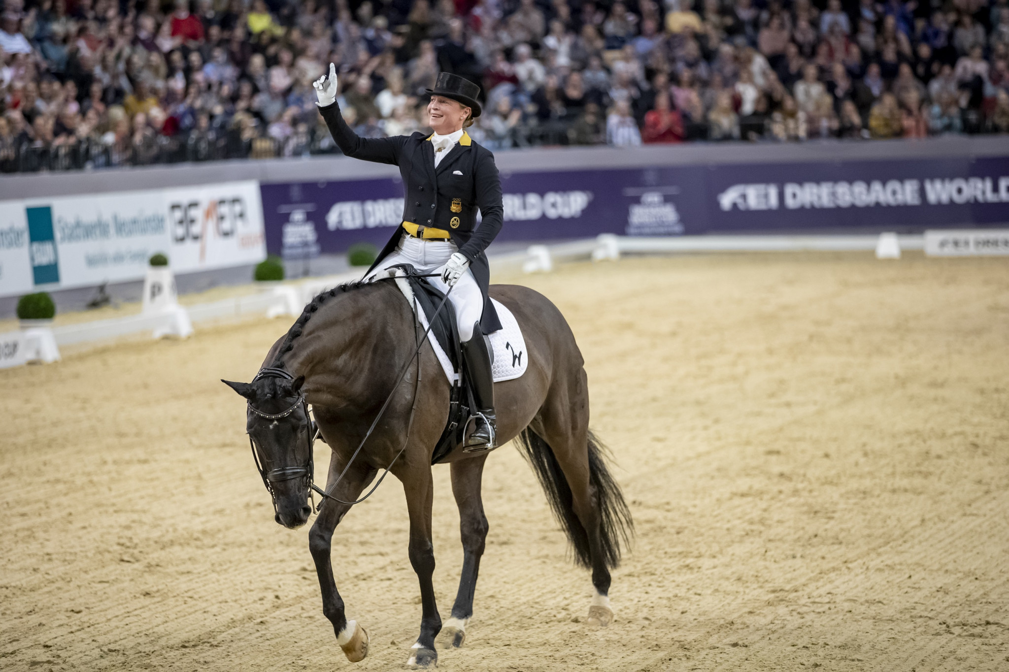 Werth wins again at FEI Dressage World Cup in Neumünster