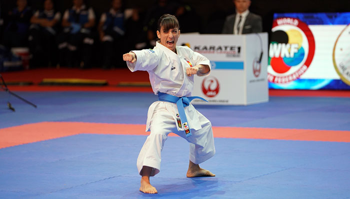 World champions earn kata crowns at Karate 1-Premier League in Dubai