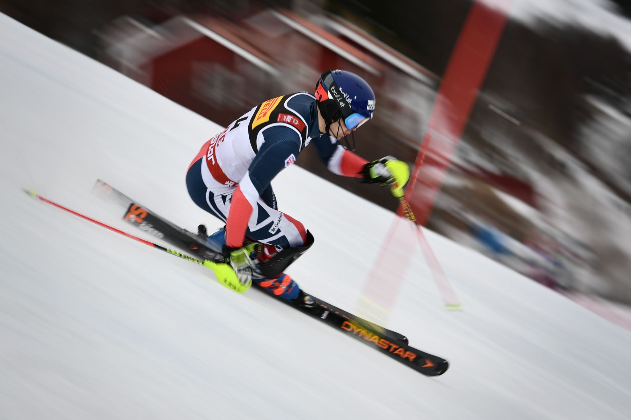 The men's slalom was the final competition of the World Championships ©Getty Images