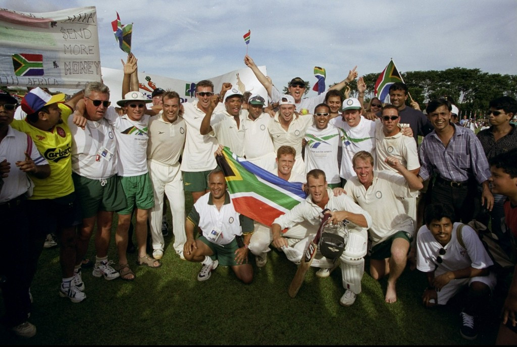 South Africa won cricket gold at Kuala Lumpur 1998, the only time the sport has featured at the Games
