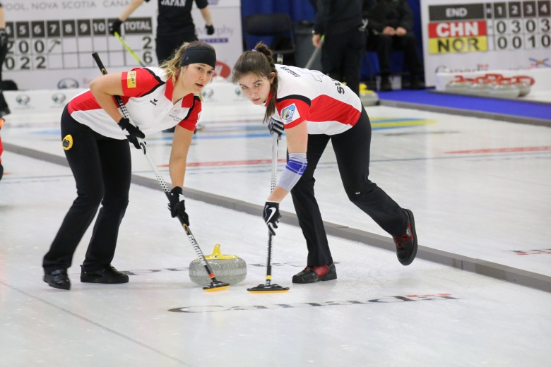 Switzerland were one of three teams to win their opening matches as the women's event got underway today ©World Curling Federation