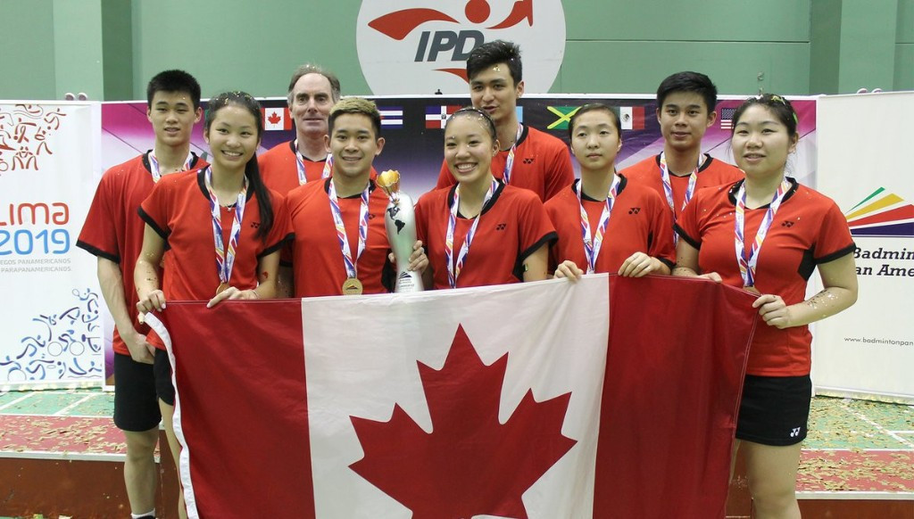 Canada breezed to victory in the final, winning the match 3-0 ©Badminton Pan Am/Twitter