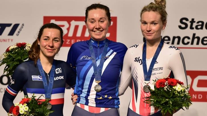 Archibald and Trott complete hat-trick of golds on final day of European Track Cycling Championships