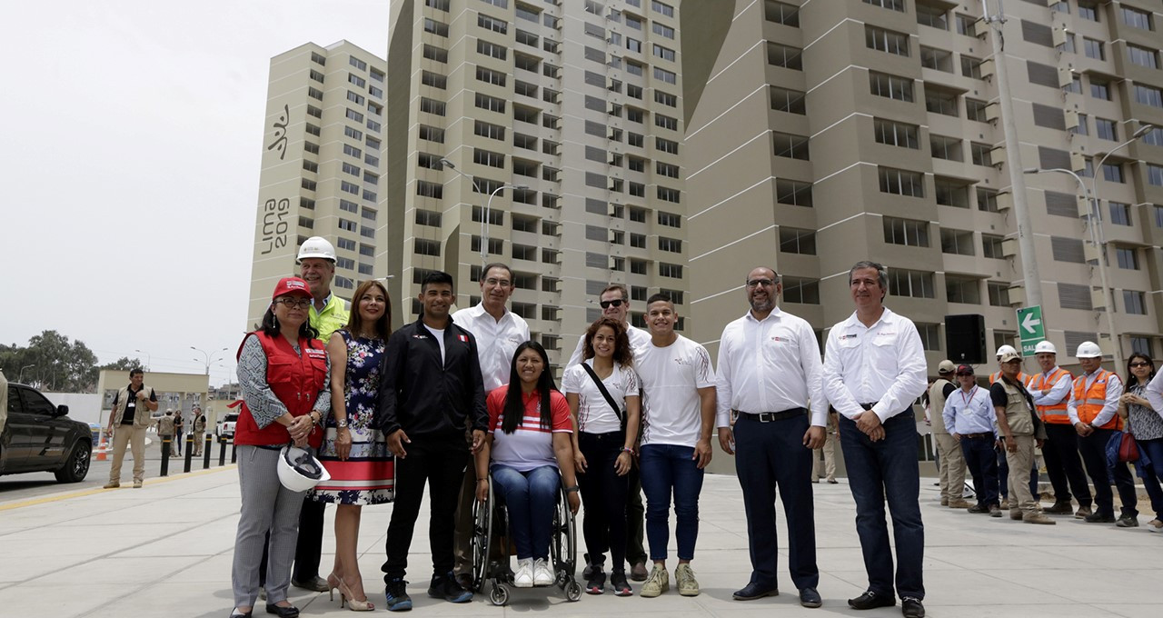 Peruvian President confident Lima 2019 will prove successful following visit to Athletes' village
