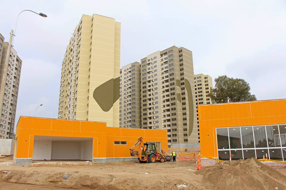 Lima 2019 President Carlos Neuhaus admitted that construction of the Athletes' VIllage, seen here in January, had been one of their biggest challenges but one he is confident they have met ©Lima 2019