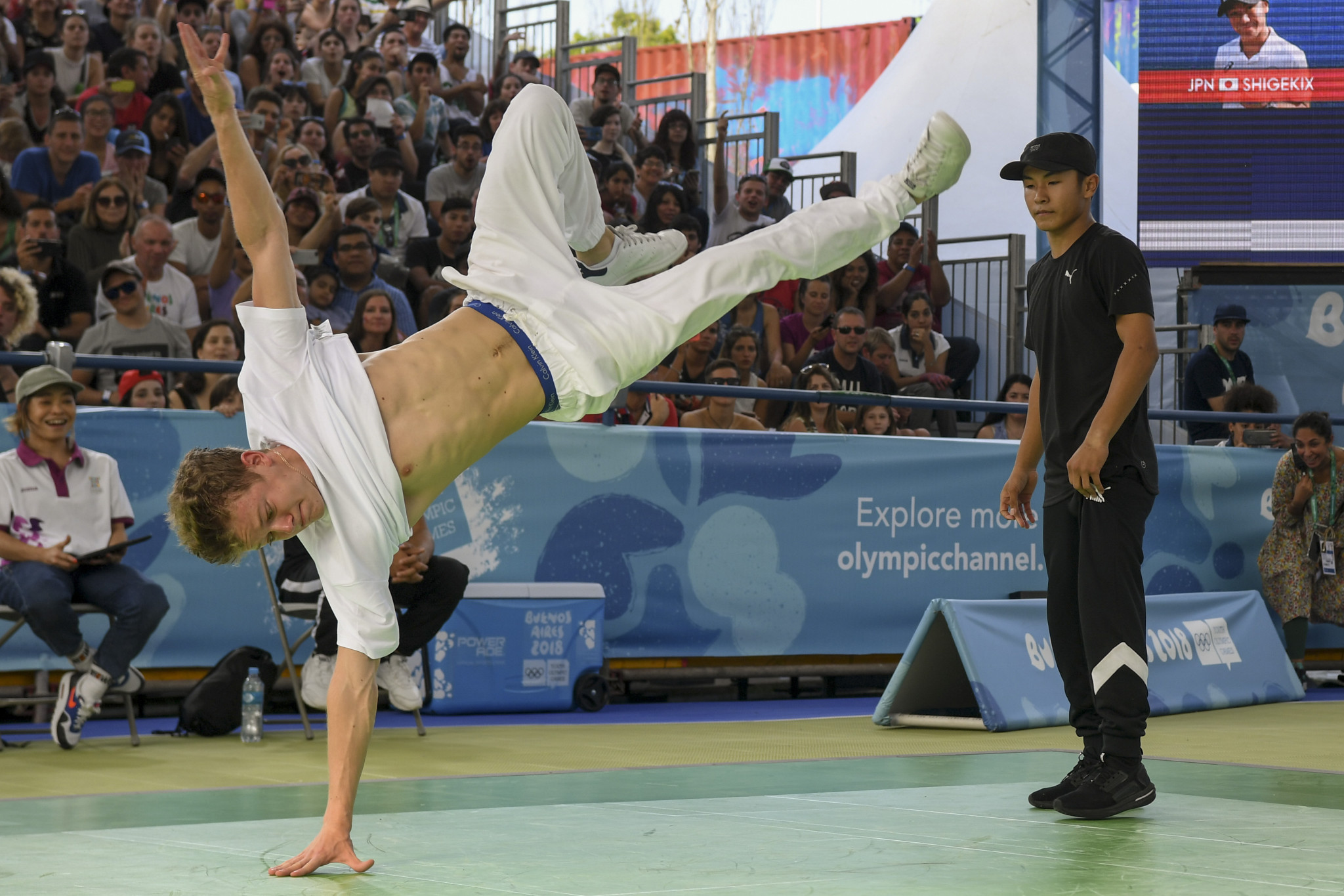 Breakdancing tipped for Paris 2024 inclusion as dispute emerges over who runs sport