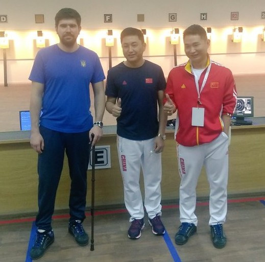 World record for Yang at Al Ain Shooting Para Sport World Cup