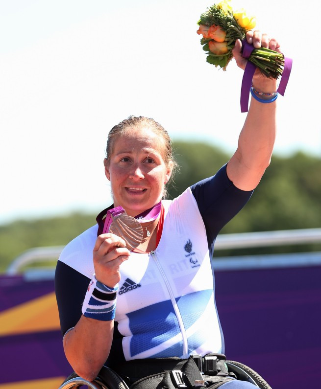 Britain's Rachel Morris has qualified for the World Para Nordic Skiing Championships having already won Paralympic medals in hand cycling and rowing ©Getty Images