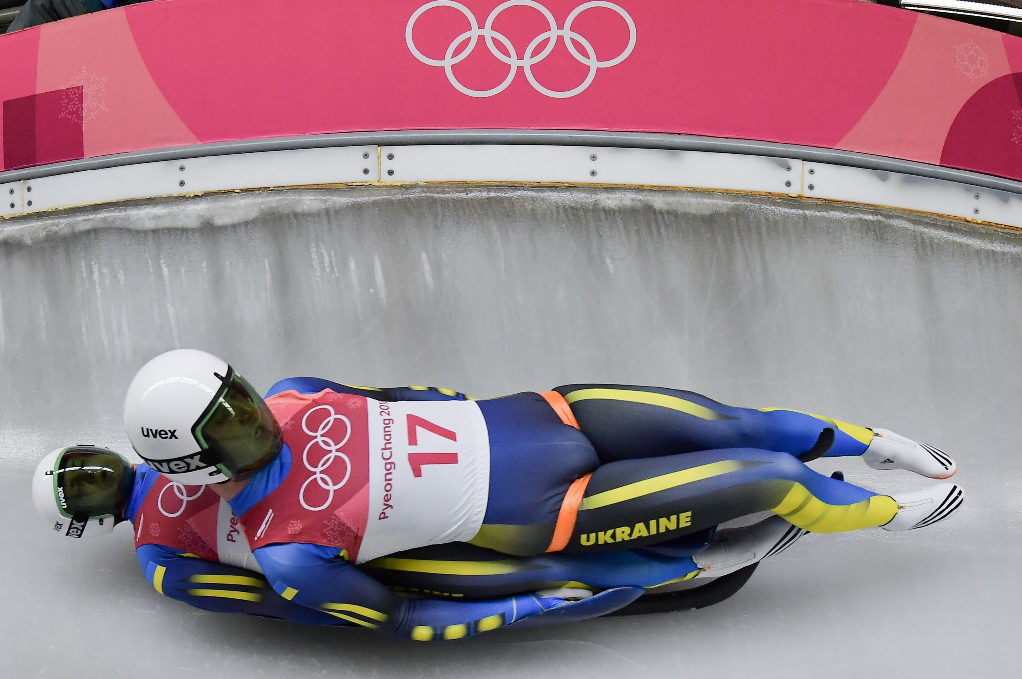 Ukraine finished last in all four luge events at last year's Winter Olympic Games in Pyeongchang ©Getty Images