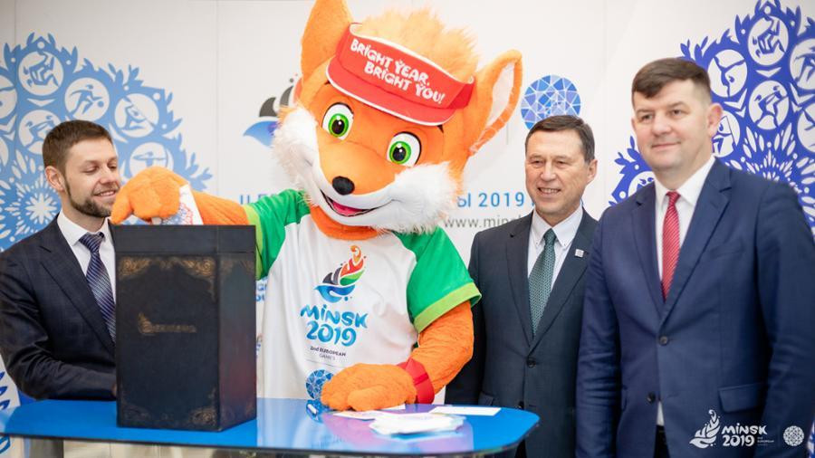 Minsk 2019 launches souvenir stamps to mark European Games