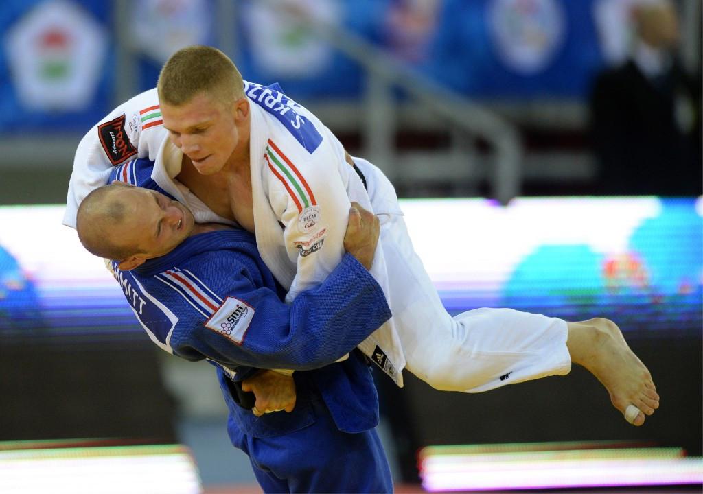 Szabolcs Krizsan took the men's under 81kg crown ©Getty Images
