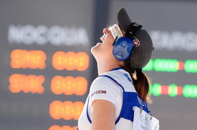 San Marino shooter traps career breakthrough title at Shooting World Cup