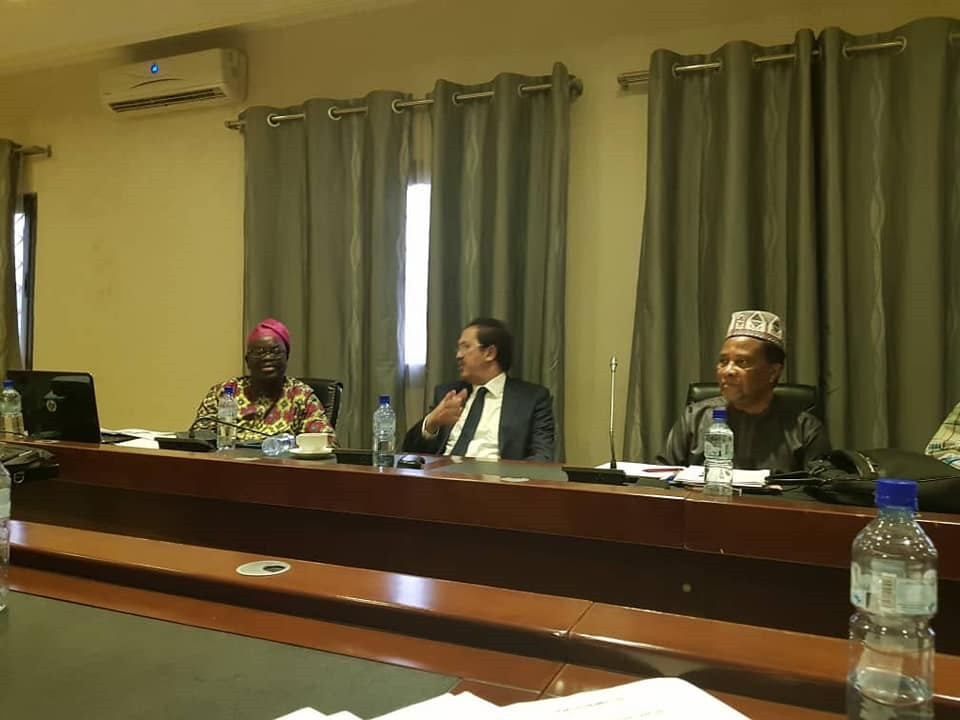 ANOCA President Mustapha Berraf was present at an workshop in Burkina Faso ©Ghana Olympic Committee