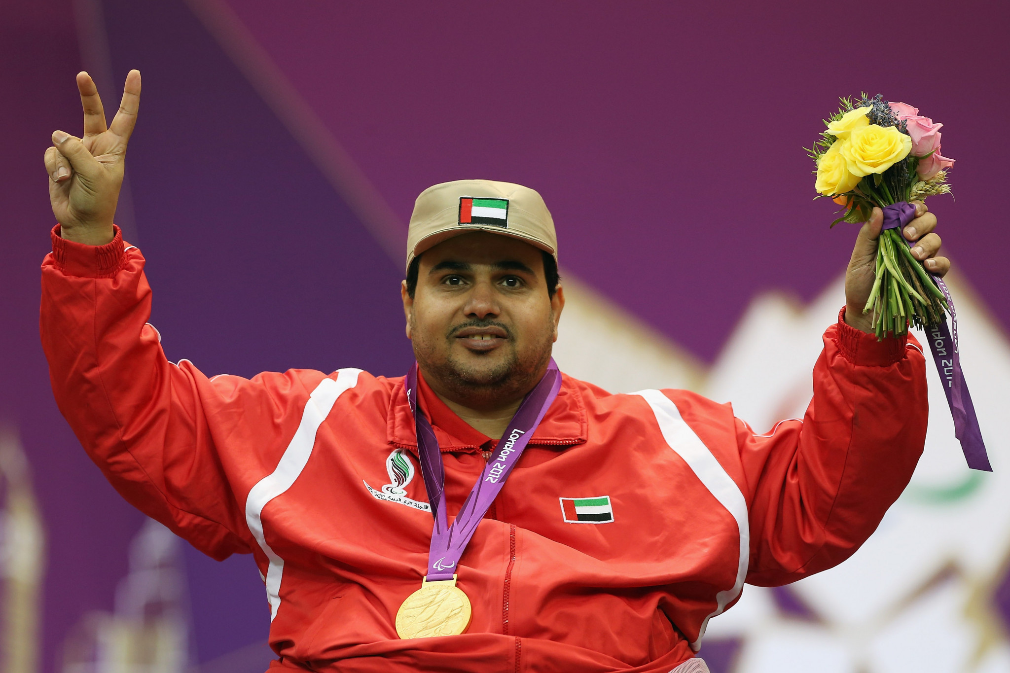 Alaryani wins home gold medal at Al Ain Shooting Para Sport World Cup