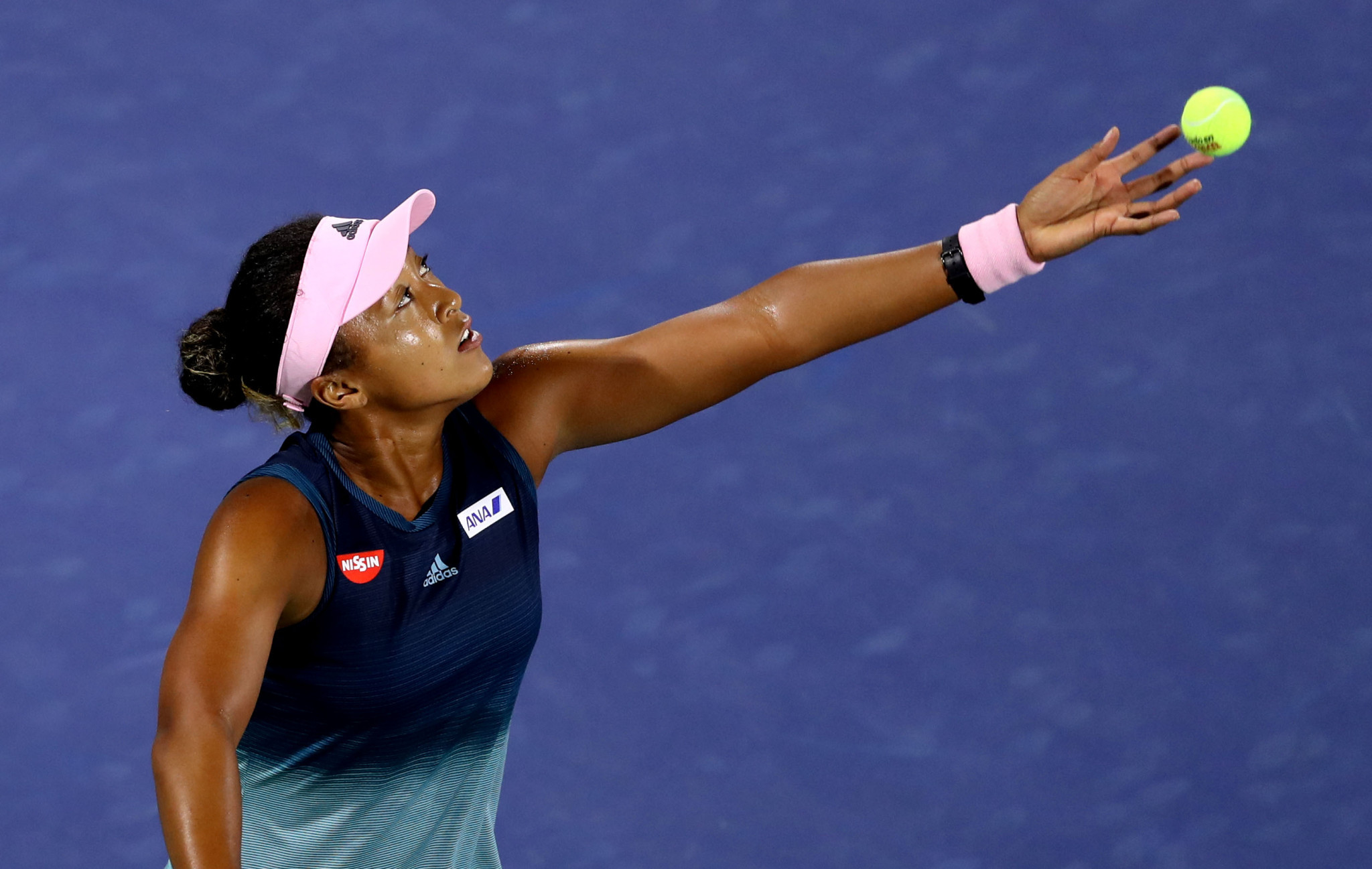 Osaka beaten in first match as world number one at Dubai Tennis Championships