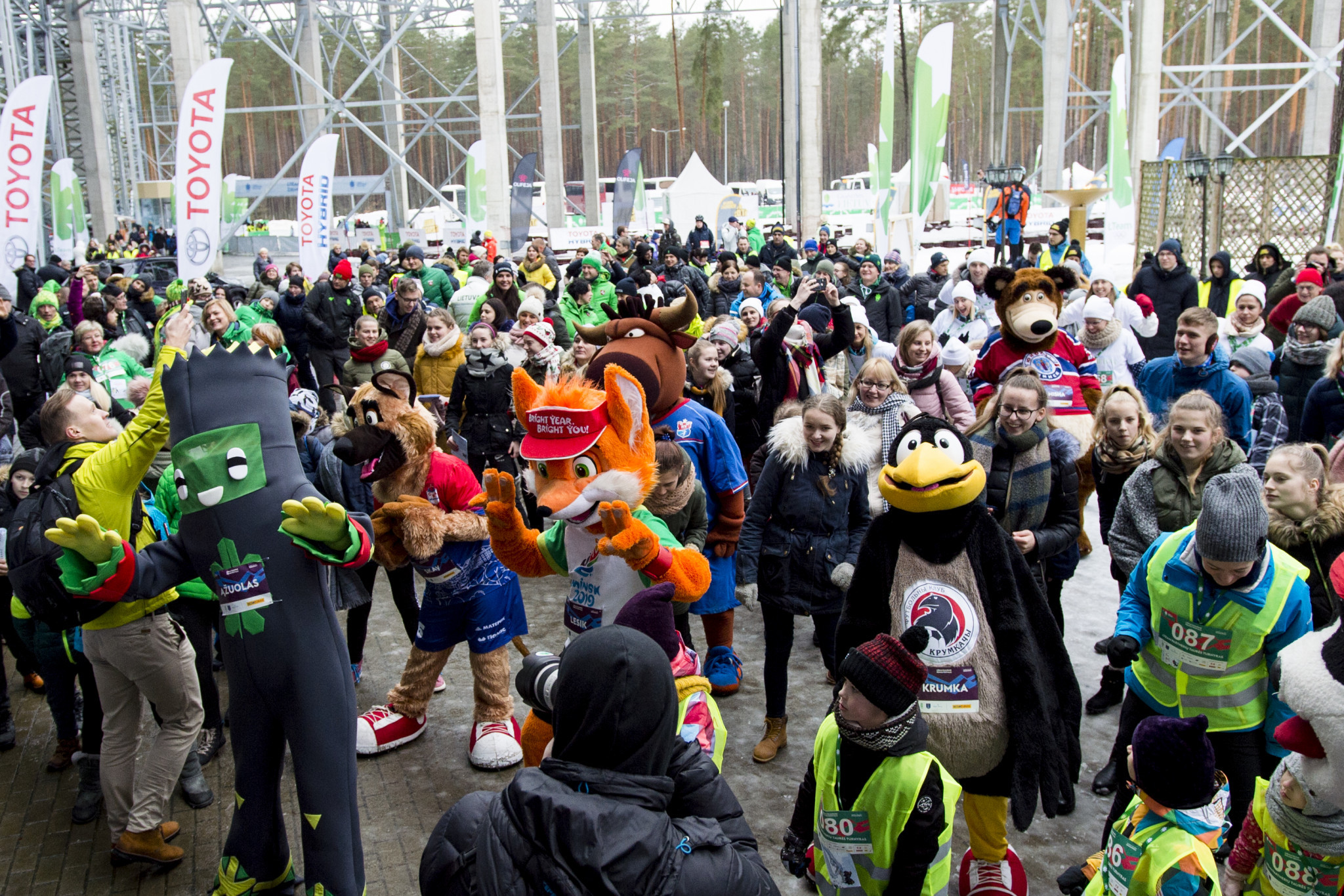 Lithuanian Olympic Committee hold Winter Festival in Druskininkai