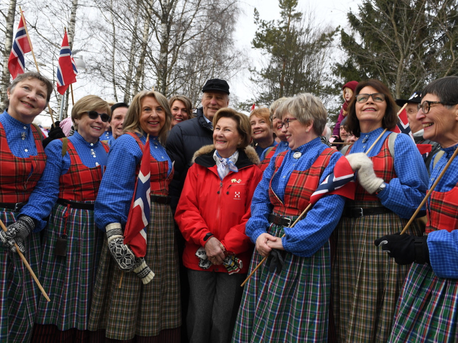 Celebrations took place in Lillehammer to mark the 25th anniversary of the Winter Olympics ©The Royal Court