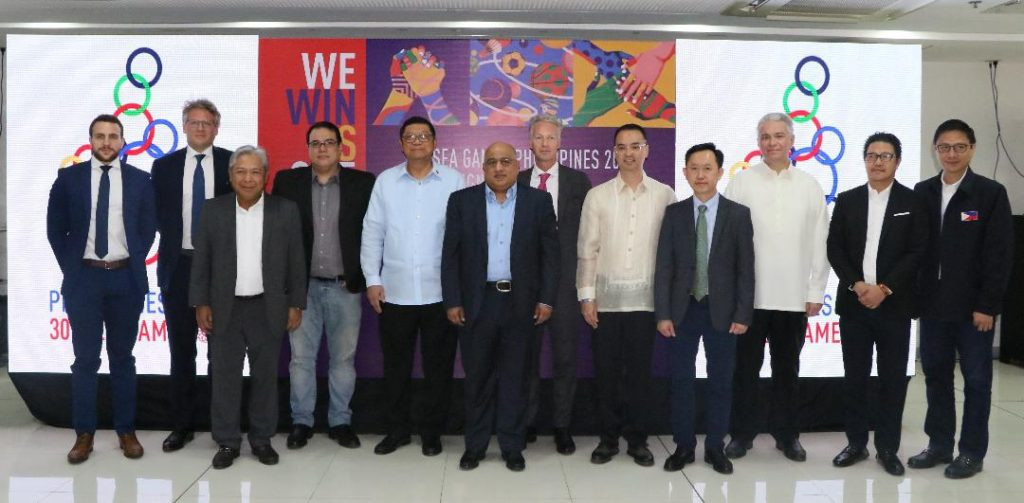 Southeast Asian Games organisers in Manila sign seven sponsorship