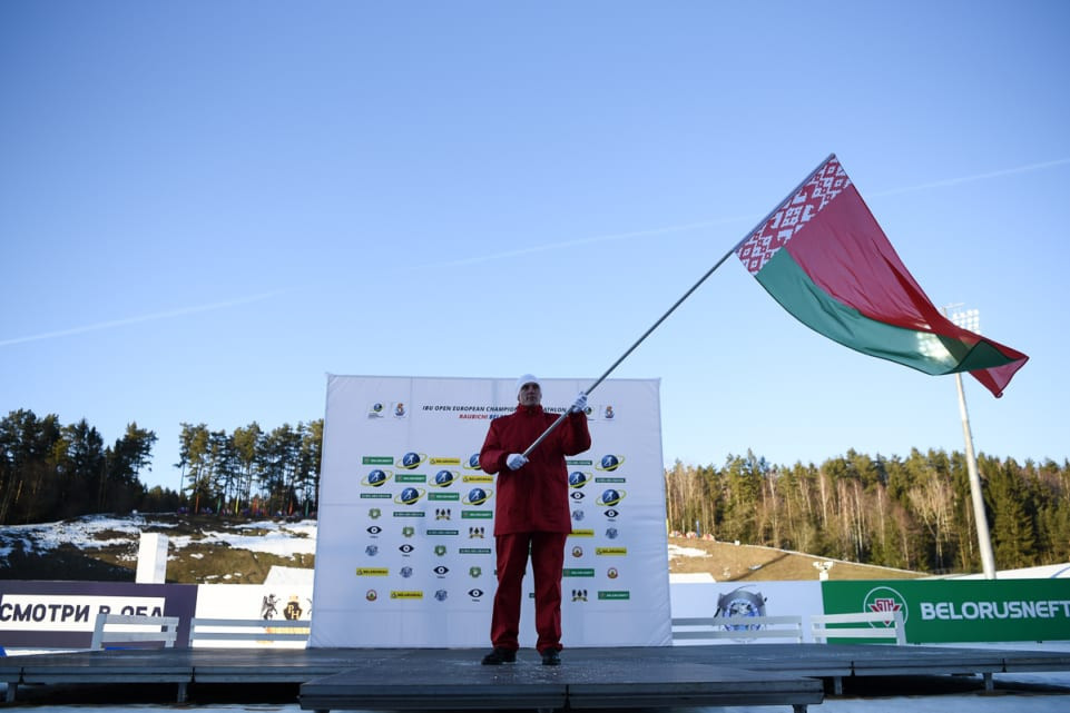 Minsk welcomes athletes to IBU Open European Championships