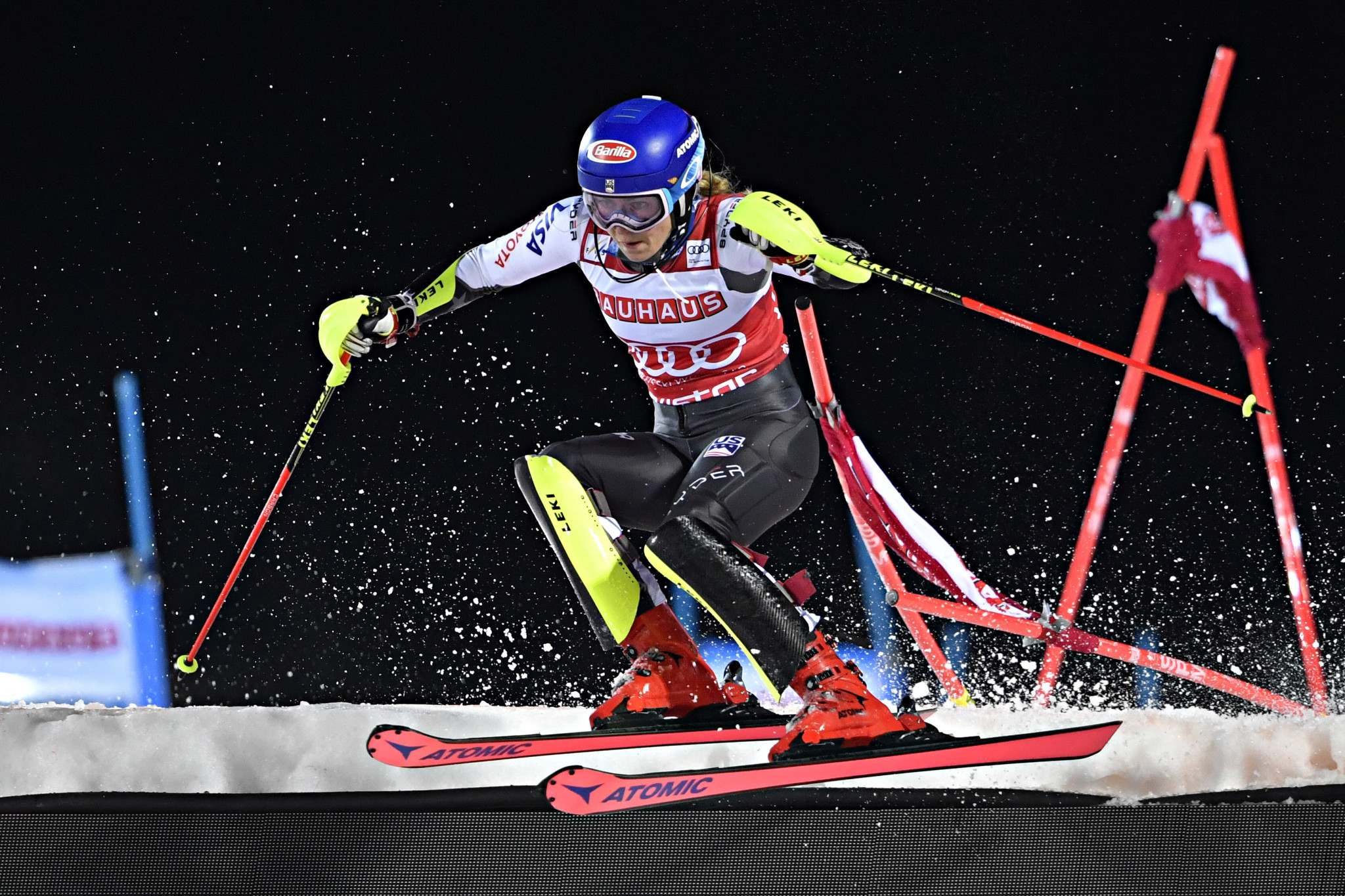 World champion Shiffrin shines in slalom again at FIS Alpine Skiing World Cup in Stockholm