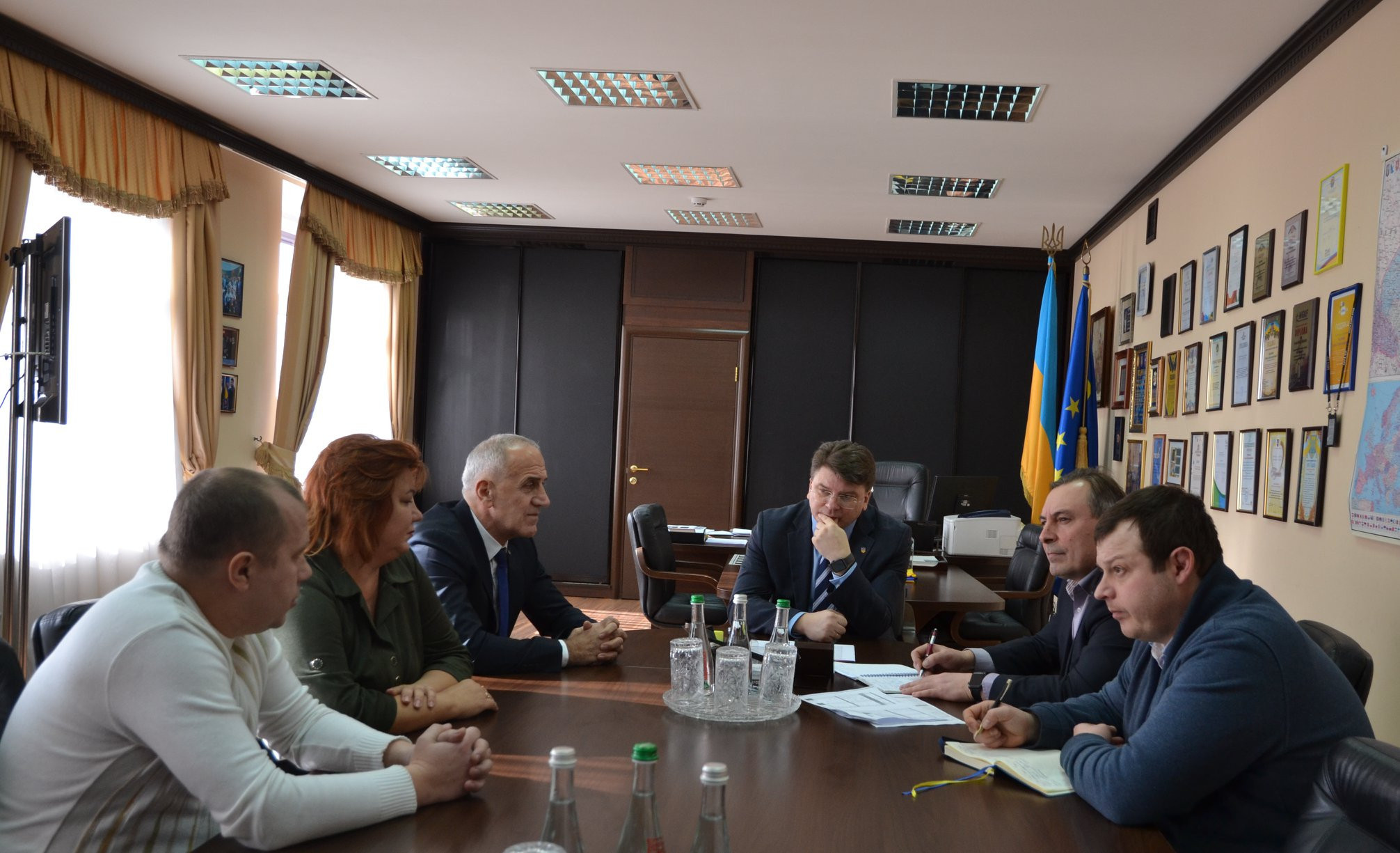 The Ukrainian Taekwondo Federation has updated the Government on its preparations for Tokyo 2020 ©Ukrainian Taekwondo Federation