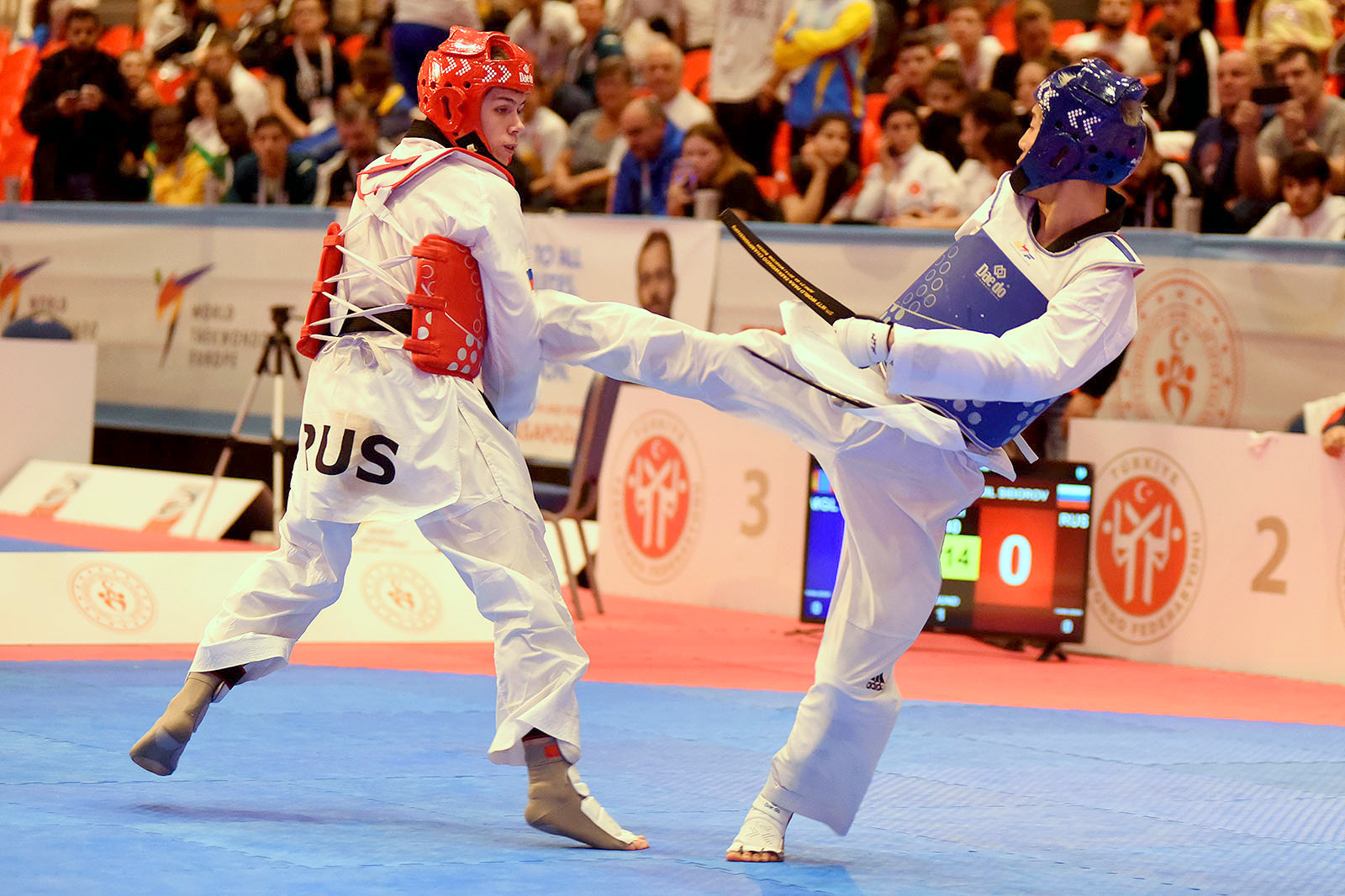 The 2019 World Para-Taekwondo Championships were spread across two days ©World Taekwondo