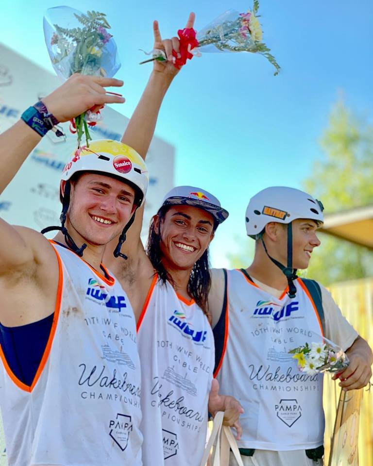 Brazil and Italy win junior wakeboard world titles as World Cable Wakeboard and Wakeskate Championships continue