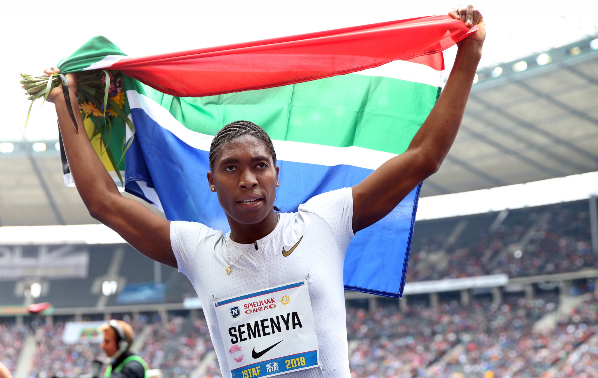 If Caster Semenya loses her appeal against the IAAF ruling at the Court of Arbitration for Sport in Lausanne she will have to take medication to reduce her testosterone levels or compete against men ©Getty Images