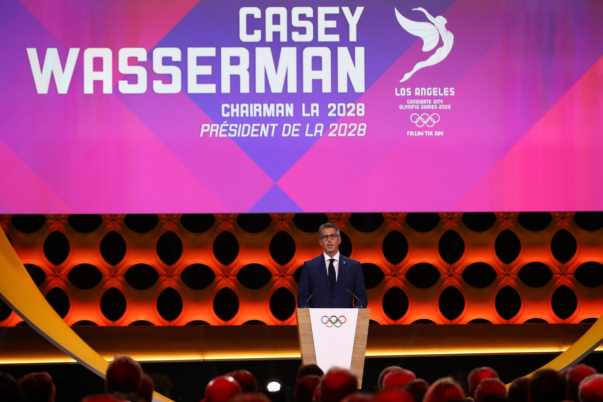 Christopher Pepe will be tasked with the development and execution of the sponsorship strategy for the Los Angeles 2028, led by chairman Casey Wasserman, and Team USA brands ©Getty Images