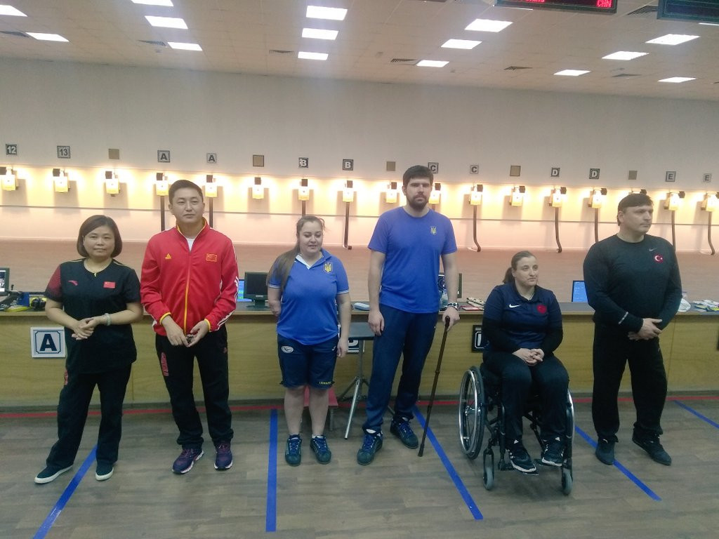 Two gold medals and a world record for Ukraine as Al Ain Shooting Para Sport World Cup continues