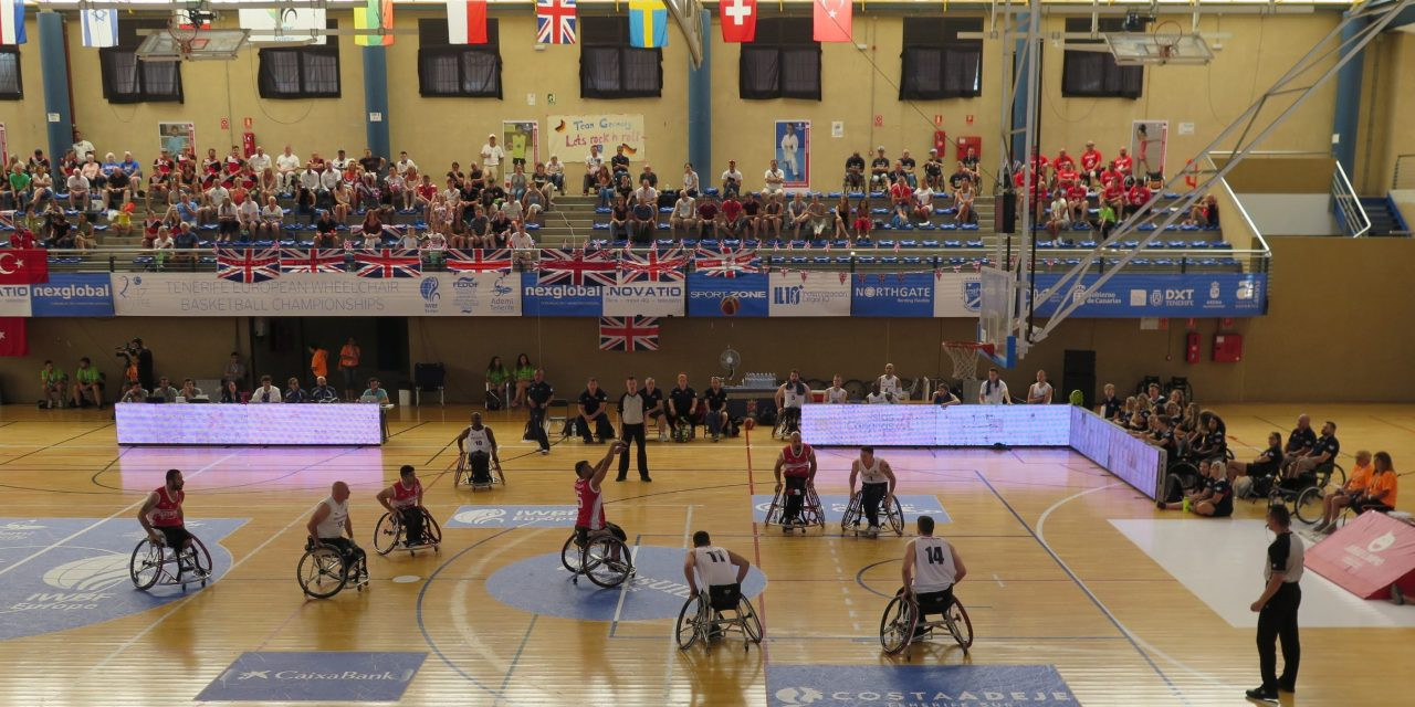 Defending champions Turkey drawn into Group B for Division A 2019 IWBF Men's European Championships