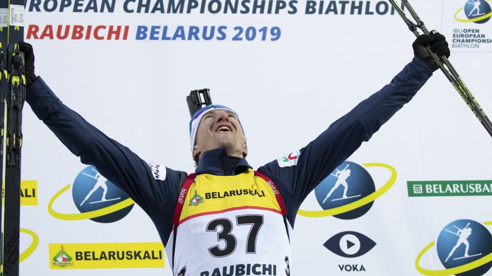 Anev and Olympic champion Öberg triumph at IBU Open European Championships