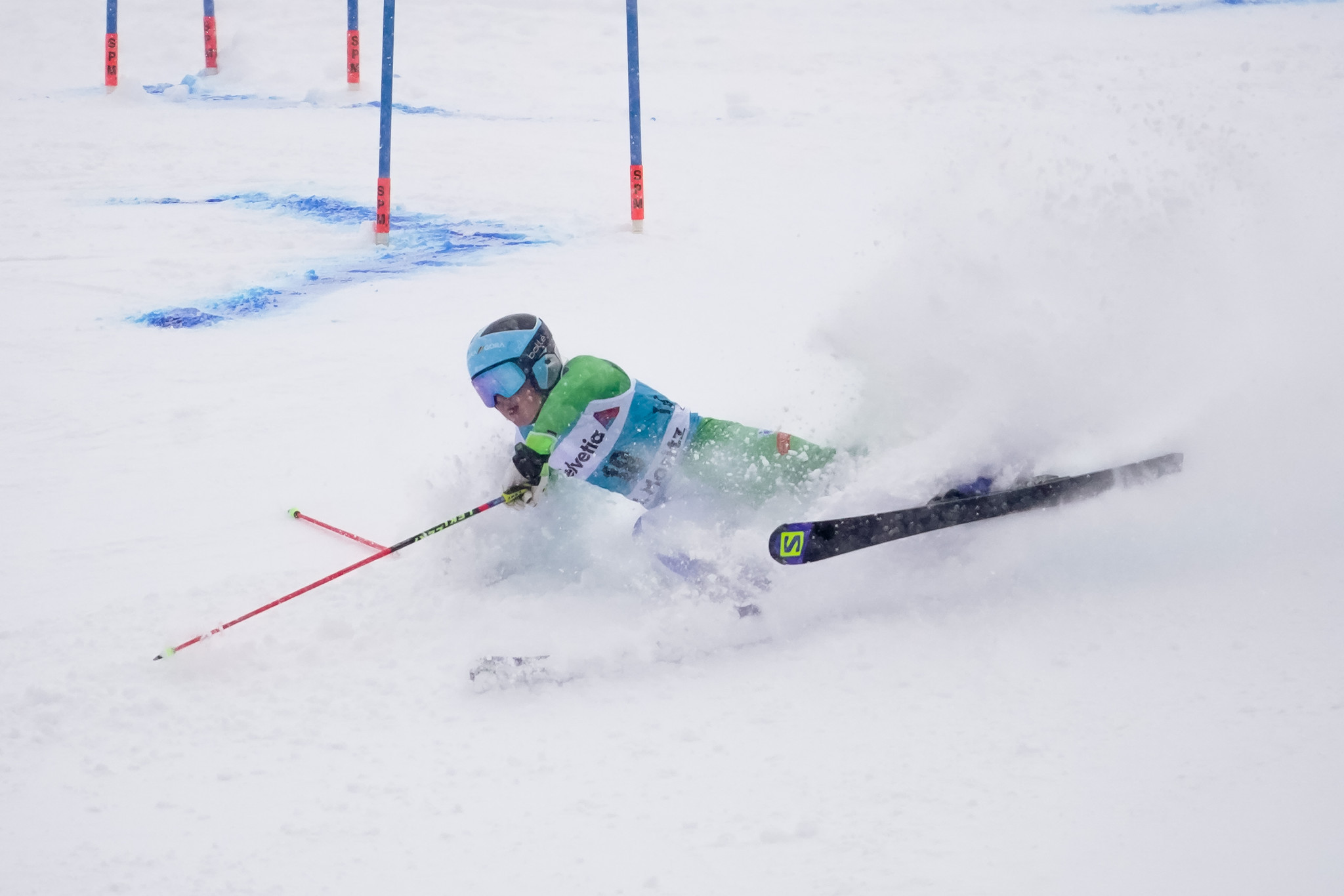 Slovenia's Meta Hrovat has had a mixed season of results having either withdrawn, crashed out or been disqualified from several races, including the FIS World Alpine Ski Championships in Åre ©Getty Images