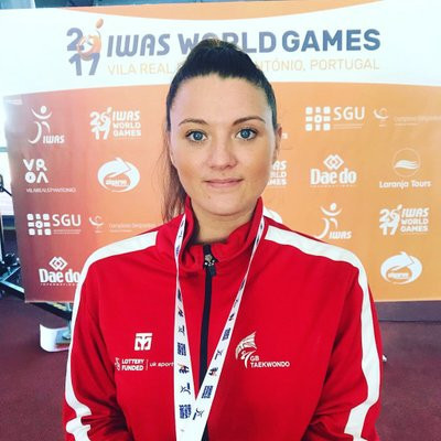 Great Britain's Amy Truesdale was among the winners as the African Para-Taekwondo Championship took place in Hurghada today ©Amy Truesdale/Twitter