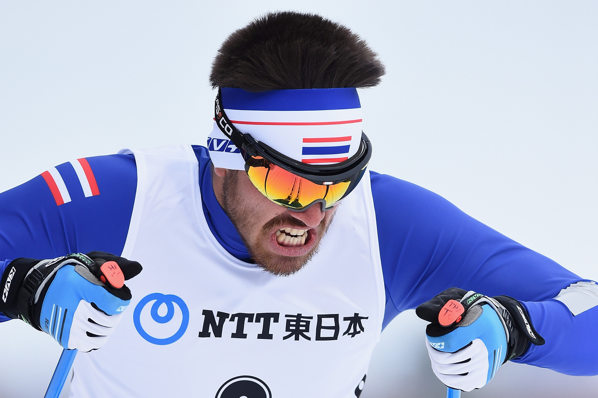 Mark Chanloung's best effort saw him finish second in men's qualifying behind De Marre ©Getty Images