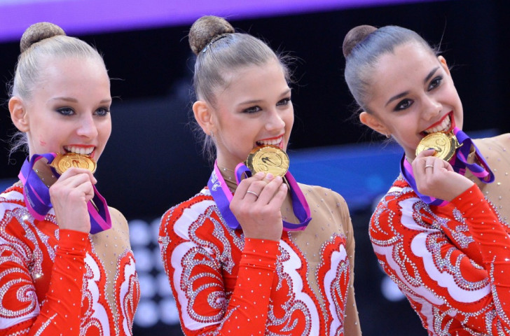 Russia claim eighth successive European Rhythmic Gymnastics group title