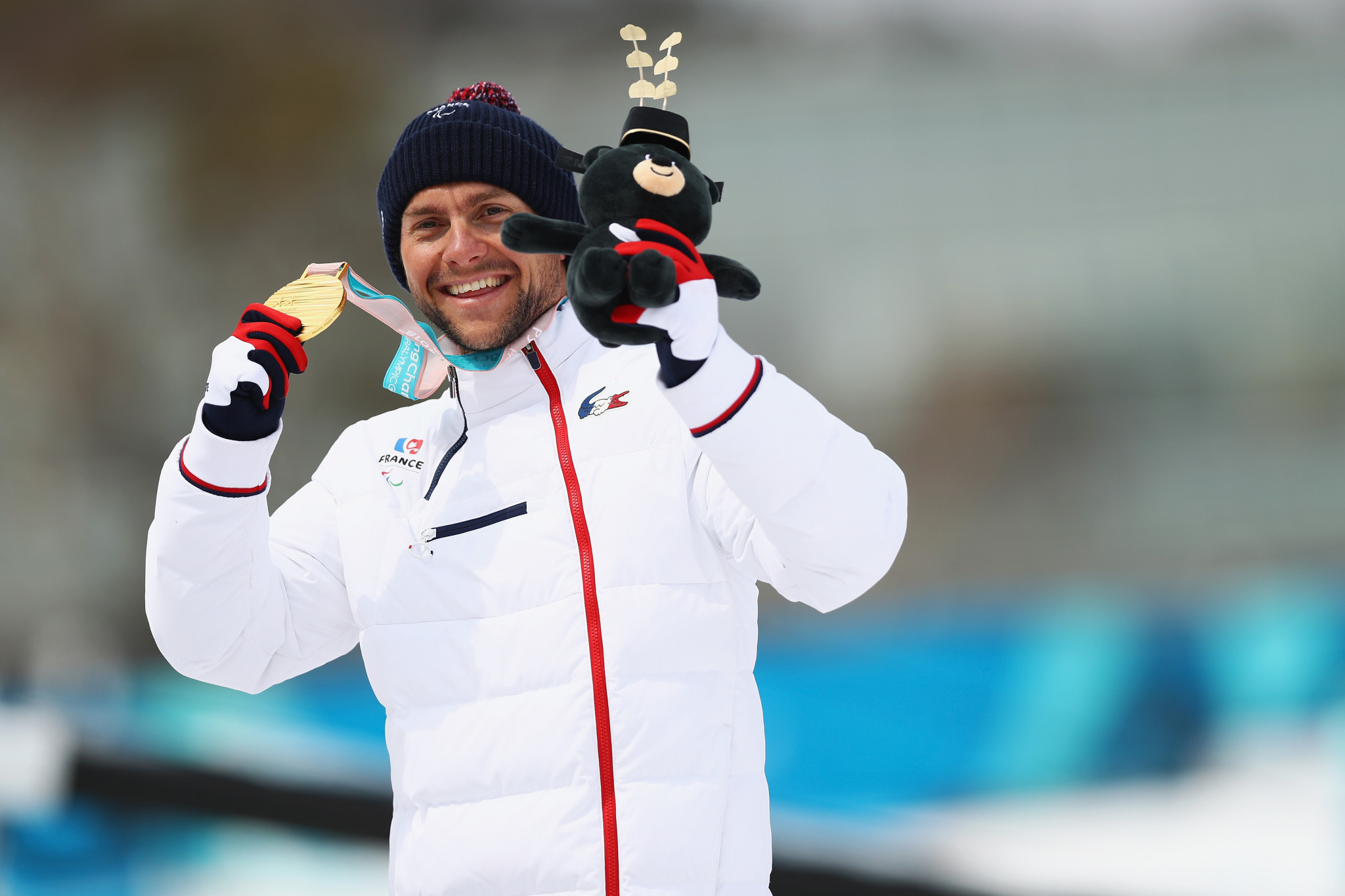 Benjamin Daviet won his fourth gold medal today at the World Para Nordic Skiing Championships ©Getty Images