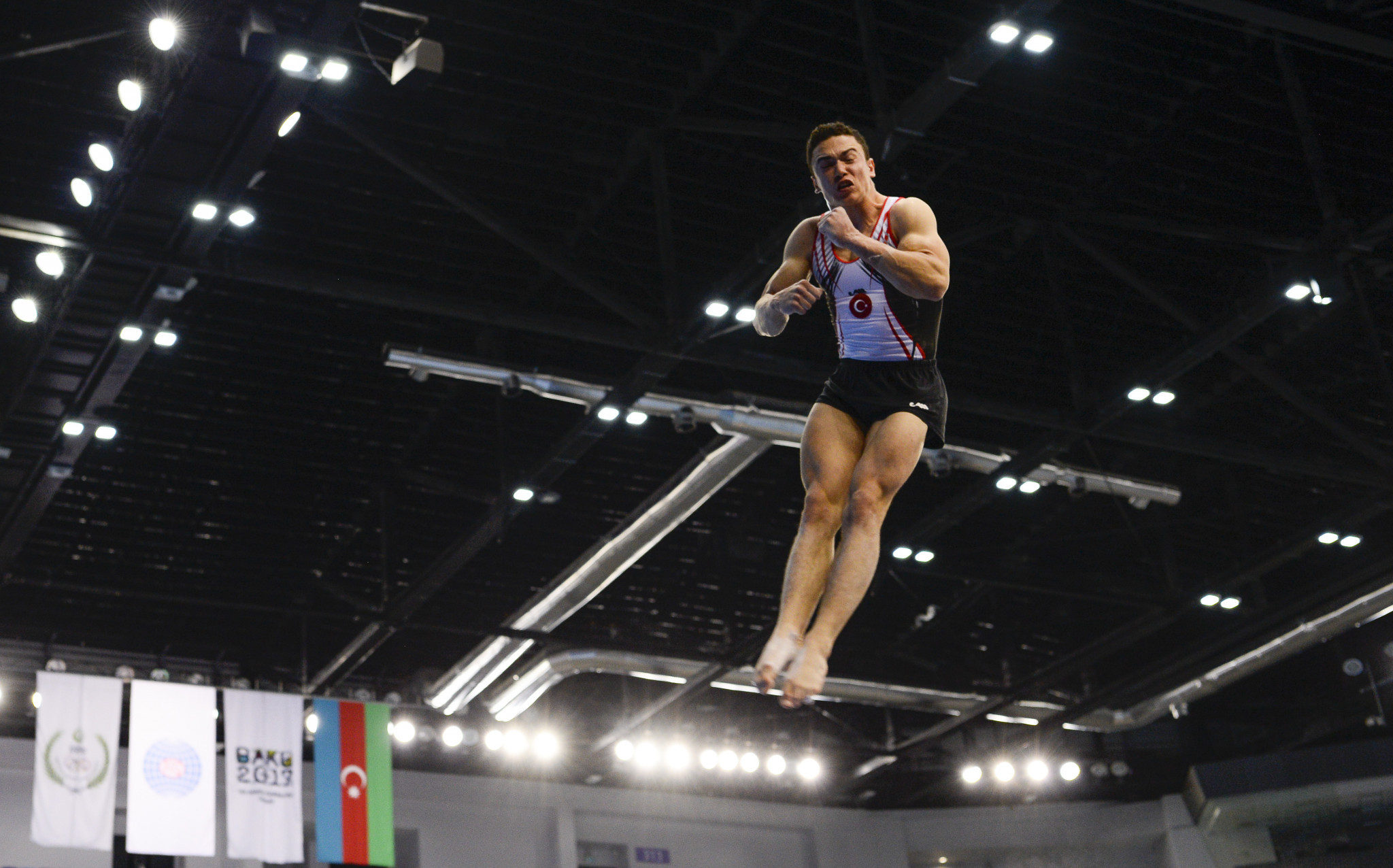 Turkish gymnast Ahmet Önder qualified top in the men's floor event ©Getty Images
