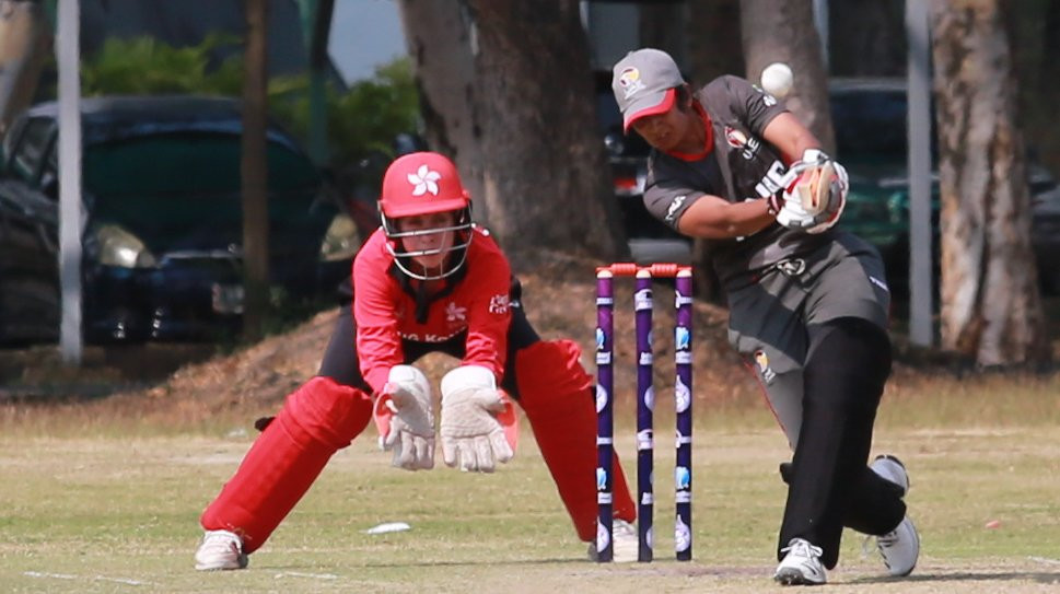 The United Arab Emirates remain top of the table at the ICC Women's Qualifier Asia n Bangkok ©Twitter